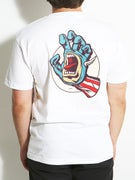 Santa Cruz x Marvel Captain America Hand T-Shirt