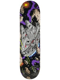 Santa Cruz x Star Wars Millenium Falcon Deck  8.26x31.7