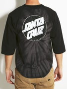 Santa Cruz Smokey Tie Dye Dot 3/4 Sleeve T-Shirt
