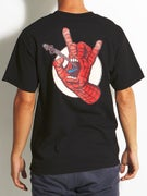 Santa Cruz x Marvel Spiderman Hand T-Shirt