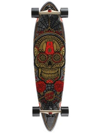 Santa Cruz Sugar Skull Gold Pintail Complete 9.58x39
