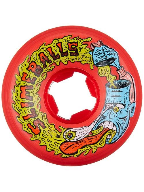 Santa Cruz Slime Balls Barfhead Vomit 97a Wheels Red - Skate