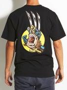 Santa Cruz x Marvel Wolverine Hand T-Shirt