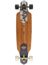 Dusters Channel Drop Thru Sepia Longboard\ 9.375 x 38