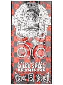 Speed Demon Bearings Red ABEC 5