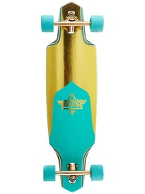 Dusters Channel Prism Gold/Turq Longboard\ .125x34