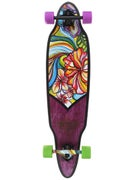 Duster's Flora Purple/Green Longboard  9.5 x 38