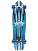 Duster's Keen Kryptonics Blue Cruiser  8.25 x 31
