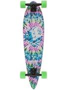 Duster's Moto Neon Tie Dye Longboard  8.25 x 34