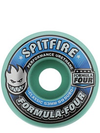 Spitfire Formula Four Classic 99a Ice Mint Wheels