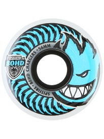 Spitfire 80HD Charger Conical Wheels  Clear