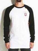 Spitfire Stock Bighead Embroidered L/S Raglan T-Shirt