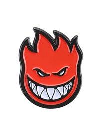 Spitfire Bighead Enamel Pin Red