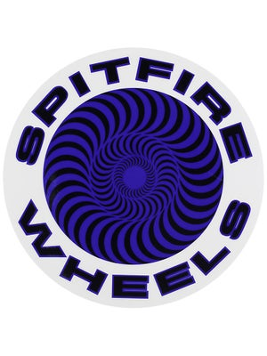 Spitfire Classic Sticker Large Blue