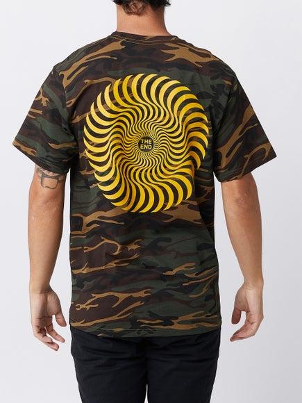 Spitfire Classic Swirl Camo T-Shirt 49d7c3a78b7