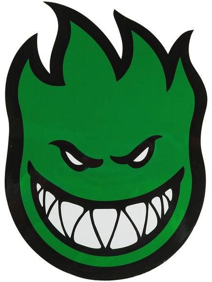 Spitfire Fireball Sticker Large Green