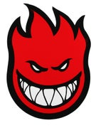 Spitfire Fireball Sticker Large RED