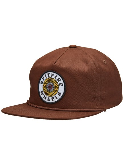 aedf5ccb85a Spitfire OG Swirl Patch Snapback Hat