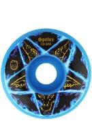 Spitfire Pentagram Neon Blue Classic 99a Wheels