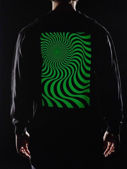 dddffa764a2805 Spitfire Swirl Box Glow Longsleeve T-Shirt