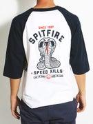 Spitfire Speed Kills 3/4 Sleeve Shirt