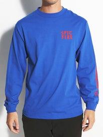 Spitfire Steady Rockin Longsleeve T-Shirt