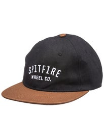 Spitfire Wheel Co. Unstructured Strapback Hat