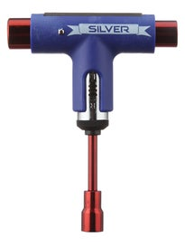 Silver 10 Year Anniversary Ratchet Tool Blue