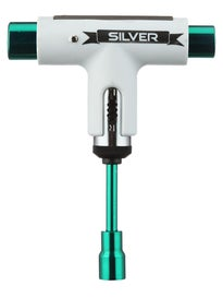 Silver 10 Year Anniversary Ratchet Tool White