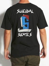 Suicidal Skates Cross Logo T-Shirt