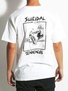 Suicidal Lance Mountain Skater T-Shirt