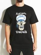 Suicidal Lance Mountain Skull T-Shirt