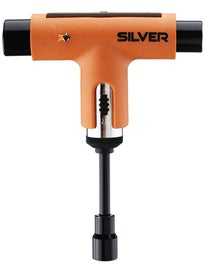 Silver Neon Collection Ratchet Tool  Neon Orange/Black