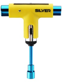 Silver Neon Collection Ratchet Tool  Neon Yellow/Blue