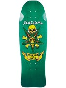Suicidal Possessed To Skate Green Deck 10 x 30.25