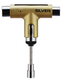 Silver Ratchet Tool  Metallic Gold