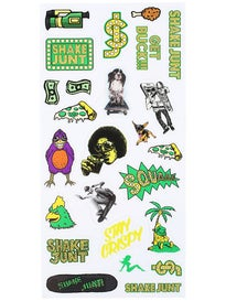 Shake Junt Mini Die Cut Sticker Sheet