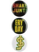 Shake Junt OPP Pins 3 Pack