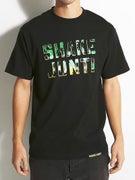 Shake Junt Spray Logo Palms T-Shirt