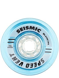 Seismic Speed Vents Clear Blue 85mm Wheels