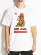 Skate Mental CA Bear T-Shirt