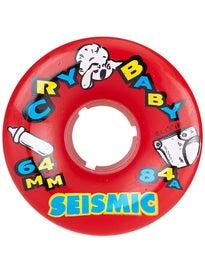 Seismic Crybaby Elixir Formula 64mm Wheels
