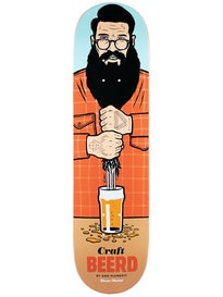 Skate Mental Plunkett Craft Beerd Deck 8.25 x 31.625