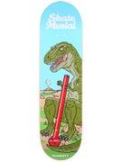 Skate Mental Plunkett T-Rex Deck 8.375 x 31.75