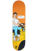 Skate Mental Foxy Vos Tractor Deck 8.125 x 31.625
