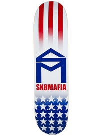 Sk8 Mafia House Logo America Deck 8.0 x 32