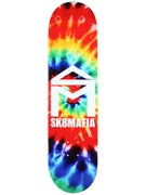 Sk8 Mafia House Logo Tie Dye 2 Deck 8.25 x 32.12