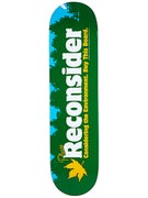 Skate Mental Reconsider The Enviroment Deck 8.0x31.625