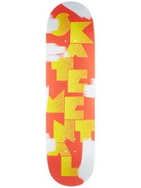 Skate Mental Logo Stack 3 Deck 8.5 x 32.25