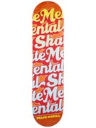 Skate Mental O'Neill Logo Name Stack Deck 8.0 x 31.875
